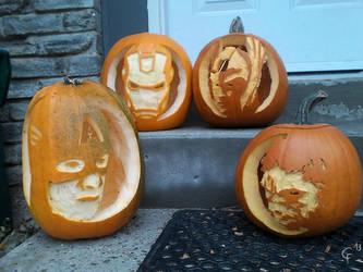 Jack-o'-lanterns Assemble by CitizenOfZozo-art