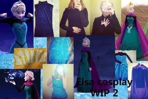 Elsa Coronation Cosplay WIP 2 by MishaCosplay