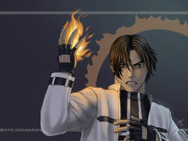 Kyo Kusanagi by AlCortez