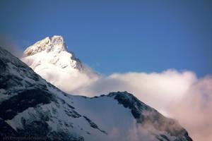 Mountain peak by droemsjael