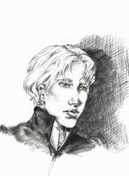 Enjolras Sketch by ColonelDespard