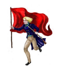 Enjolras Les Mis Extended Petition by ColonelDespard