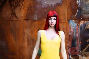 Yellow Glow Job by blackfantastix