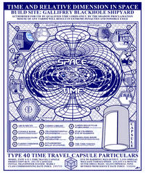 TYPE 40 TARDIS Time Travel Capsule Poster FINAL! by Time-Lord-Rassilon