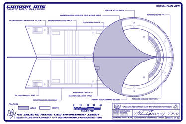Condor One Schematic 1 of 12 General Plans by Time-Lord-Rassilon