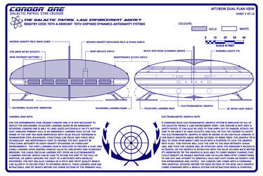Condor One Schematic 3 of 12 General Plans by Time-Lord-Rassilon