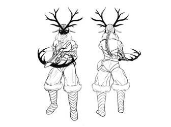 Huntress - Outlines by IIIXandaP