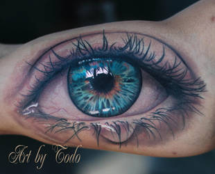 realistic-Eye-by-Todo-ABT-Tattoo by TodoArtist
