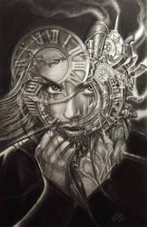 steam girl  by TodoArtist