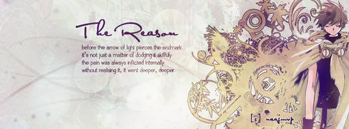 Syaoran Art - FB's Cover - The Reason by skehehdanfdldi