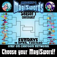 Mighty MagiSword Bracket Promo - April 2018 by artbylukeski