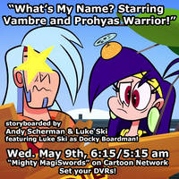 MIGHTY MAGISWORDS SEASON 2 continues thru-out May by artbylukeski