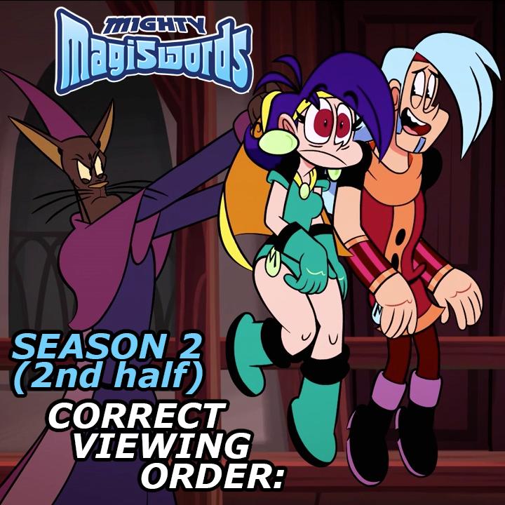 Mighty MagiSwords Season2-2nd half - correct order by artbylukeski