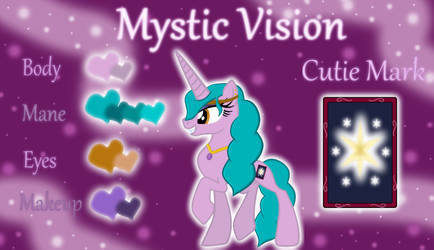 Mystic Vision Reference Sheet by ForTheLuvOfApplejack