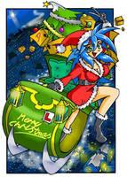 Datel - Sakura- Christmas Card by LarryBundyJr