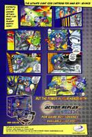 Datel - Sakura - Comic Ad by LarryBundyJr