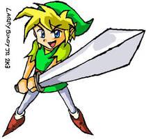 Zelda Wind Waker - Datel Art 2 by LarryBundyJr