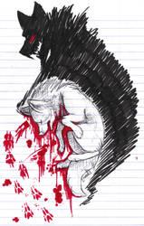a bleeding nightmare by thelunacy-fringe