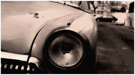 Retro Look Vintage Car by MihneaCernat