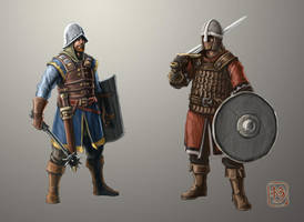 Men At Arms concept by NeilBlade