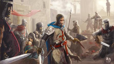Crusader by NeilBlade