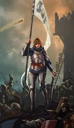 Joan of Arc by NeilBlade
