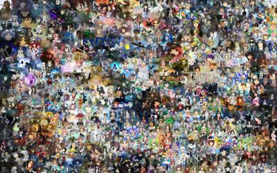 Animanga Collage by voldanita