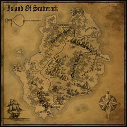 Island of Scatterack by Zinus-Kun