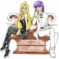 Slayers-The Devil and Angel by majochan