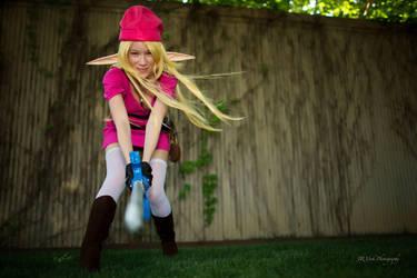 Pink Link by KayLynnSyrin