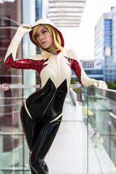 Latex Spider Gwen by KayLynn-Syrin