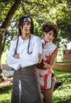 Tenten and Neji by KayLynn-Syrin