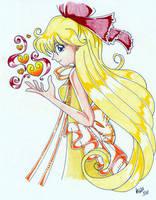 Princess Mina of Venus by LadyEiko