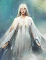 priestess by avvart