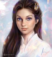Portrait by avvart