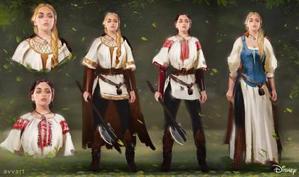 Vasilisa concept art by avvart