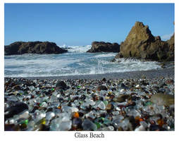 glass beach by smearedmemories