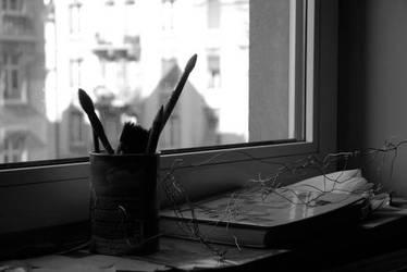 pinceaux noir et blanc by boiseime