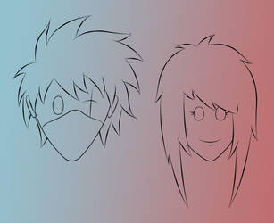 Kakashi and Toshiko Avatar by br0wn3y3dgirl