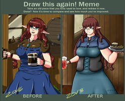 Draw this again 2018 by Obysuca