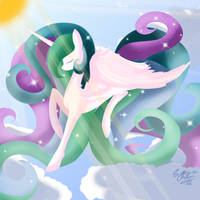A Stroll Through The Clouds by Space-Butterflies