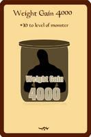 Munchkin Card Weight Gain 4000 by Fallensbane