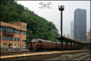 Departing Pittsburgh by DragonWolfACe
