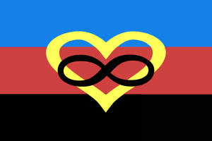 Polyamory Pride Flag by bihetnaomi