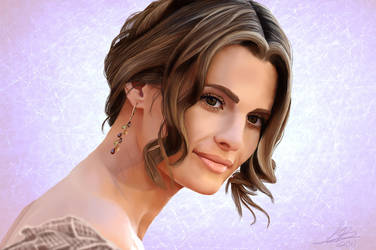 For Lovers Only - Stana Katic Portrait by CrazyK913
