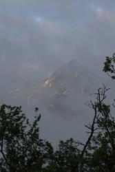 Cloudy Mountain by christel-b
