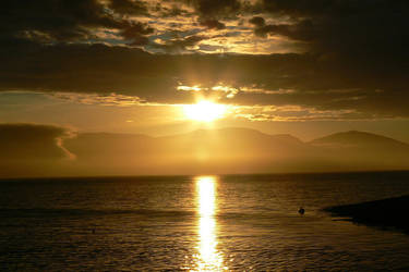 :: Golden Skies II :: by christel-b