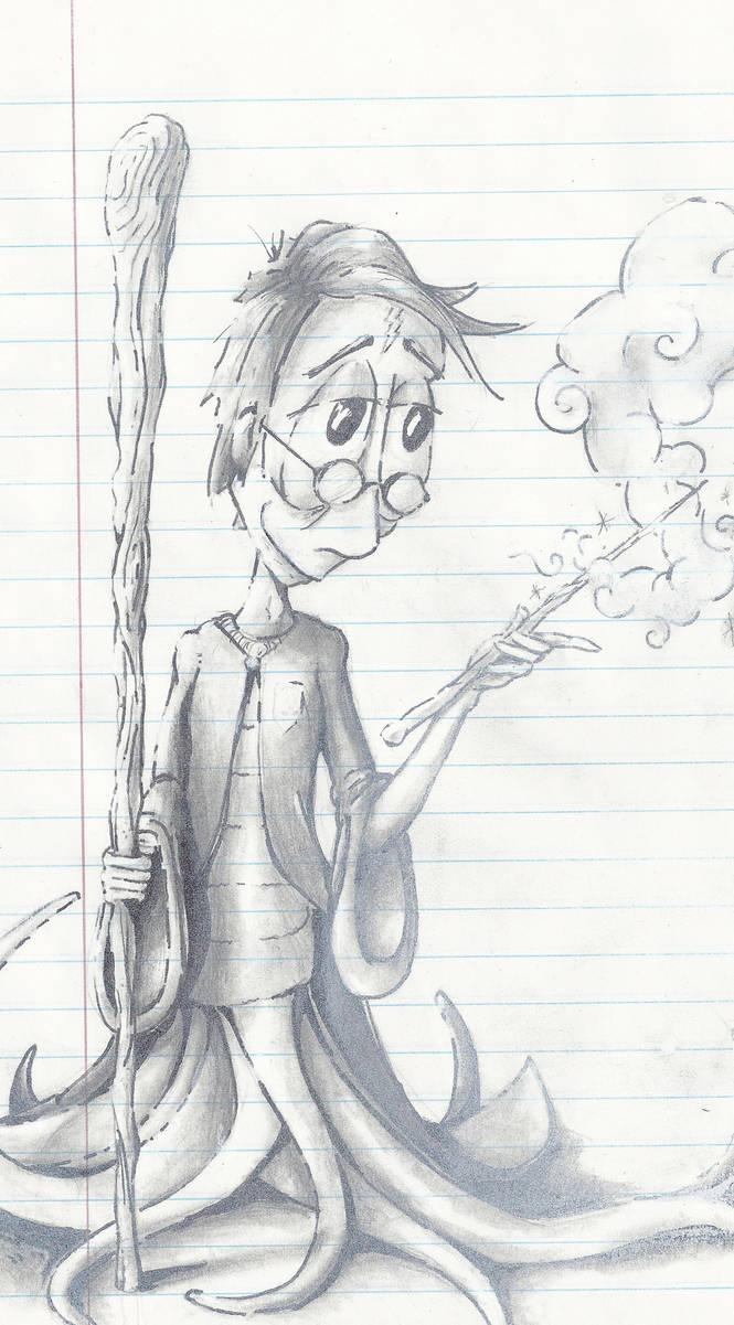 Harry Potter by drippyhippie