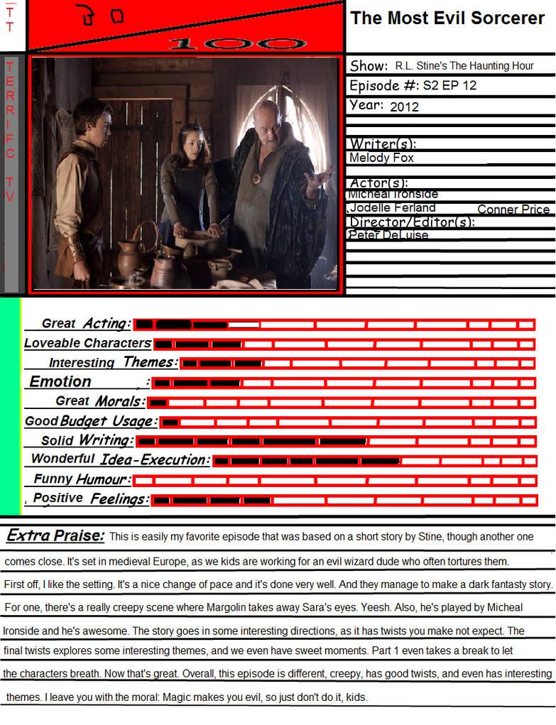 Terrific TV: The Most Evil Sorcerer by Spongey444 on DeviantArt