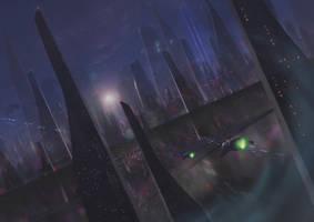 Spaceport by g8crasherboy